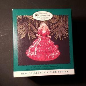 Hallmark Ornament 1996 Club Edition Barbie